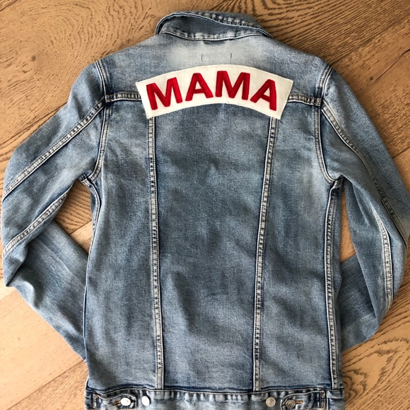 undefeated x recognized brands search for genuine Mama Denim Jacket